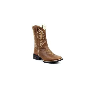Bota Mr West Boots Kids Fossil Tabaco