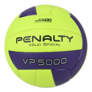 Bola Vôlei Penalty VP 5000 X 521271-2420, Cor: Amarelo/Roxo, Tamanho: ÚNICO