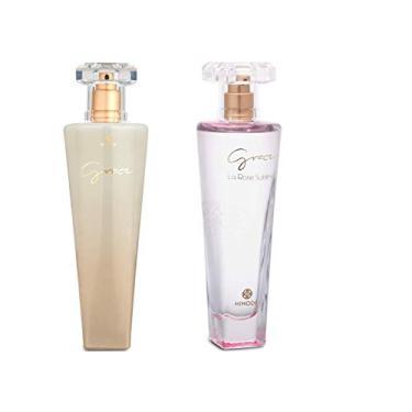 Imagem de Perfume Feminino Grace Branco E Grace Sublime Hinode