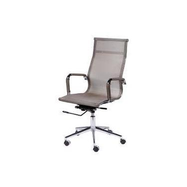 31c92938f Cadeira Office Eames Presidente Tela Mesh E Sistema Relax Cobre
