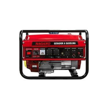 Gerador de Energia a Gasolina 3 KVA Monofásico Partida Manual - NG3100