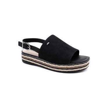 Sandália Flatform Dakota Z3772 Preto