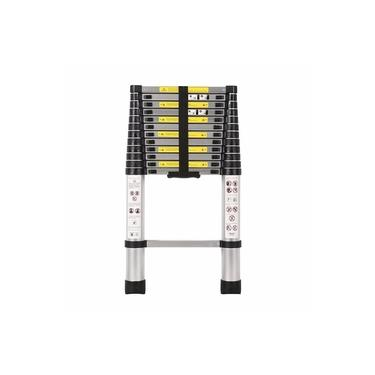 Escada Telescópica Multifuncional Alumínio Prizi 13 Degraus 3.8m - KME1038