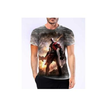 Camiseta Camisa Personalizad God Of War Kratos Jogo Ps4 Hd 4