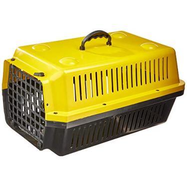 Caixa Transporte Alvorada N.2-Amarelo Alvorada para Cães