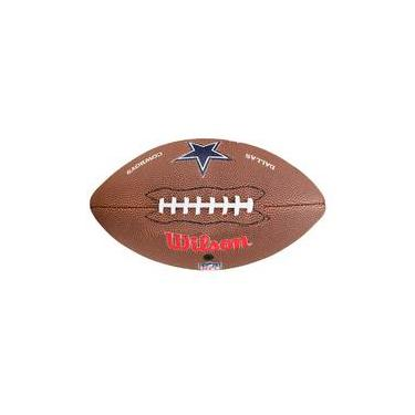 Bola De Futebol Americano Wilson Nfl Team Lolo Jr Dallas Cowboys d3d4360c27f
