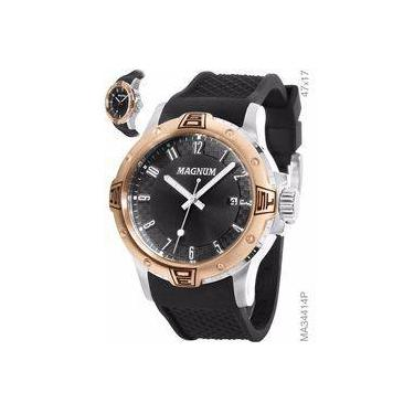 49546d7c470 Relógio de Pulso Masculino Magnum Calendário Submarino