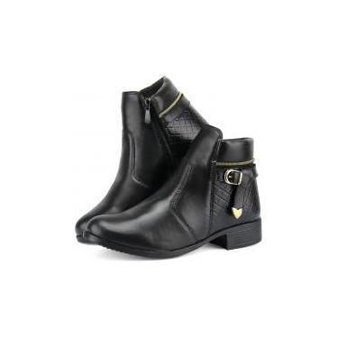 Bota Coturno Feminino Ankle Boot Linha Outono Inverno 2019 - 37 - Dona beja