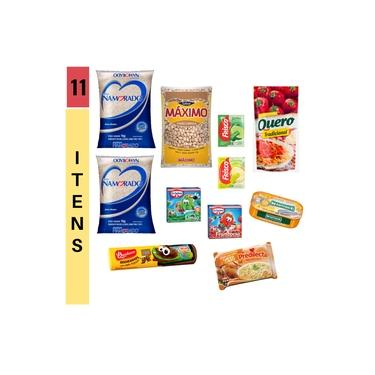 cesta básica alimentos 11 itens - Violeta