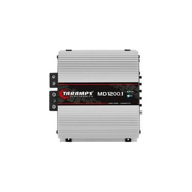 Módulo Taramps Md1200 1200w Rms 1 Canal 4 Ohms Amplificador Digital Som Automotivo
