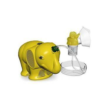 Inalador Infantil Inalafante Amarelo - NS Inaladores