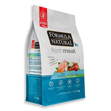 Ração Fórmula Natural FreshMeat para Cães Filhotes de Pequeno Porte Sabor Frango 7kg