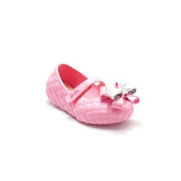Sapatilha Menina Barbie Fashion Girl Rosa Grendene Kids