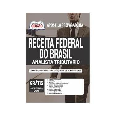 Imagem de Apostila Analista Tributário Da Receita Federal Do Brasil