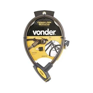 Cadeado para bicicleta 60cm plastificado - Peça - Vonder