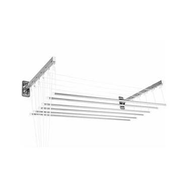 Varal Prático Parede / Teto 1,20 M Alumínio - Secalux