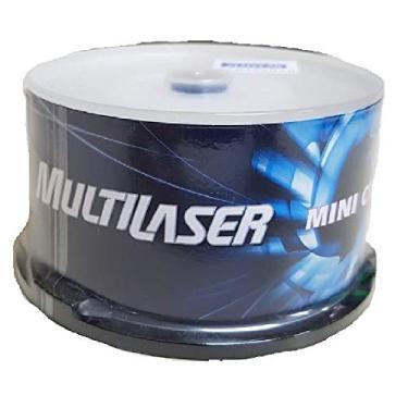 Mini CD-R 16X pino com 25 und - Multilaser CD003