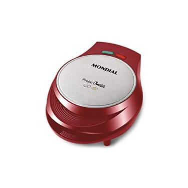 Omeleteira Mondial Pratic Omelet 1000W OM-03 Vermelha - 220V