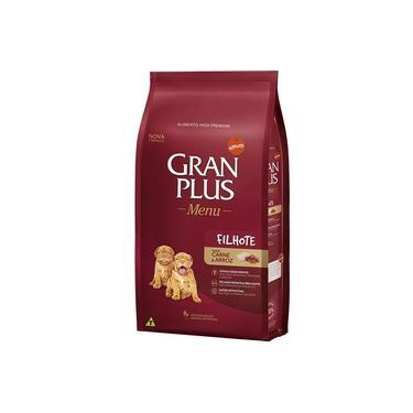 Ração Gran Plus Menu para Cachorro Filhote Carne e Arroz 20kg