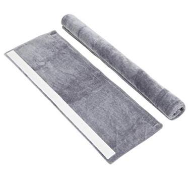 ZHONGLI Capa de flanela para maçaneta da porta do refrigerador – luvas antiderrapantes de absorção de água para freezer e forno, luvas protetoras como aparelho de cozinha