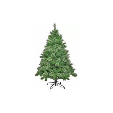Árvore Pinheiro de Natal Modelo Luxo Verde Nevada 1,20m 170 Galhos A0312N