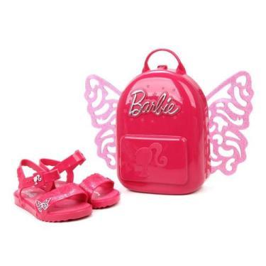 Sandália Infantil Grendene Kids Barbie Bytterfly Feminina