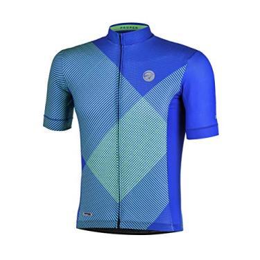Camisa Mc Masculina, Mauro Ribeiro Sports, Proper Az Gg, Azul