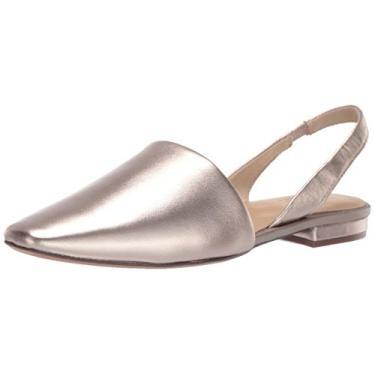 Sapatilha de balé feminina Kerrie Naturalizer, Light Bronze, 9.5