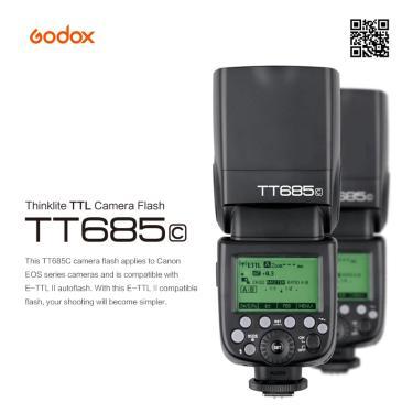 Imagem de Godox-flash para câmera, tt685 tt685c tt685n tt685s tt685f tt685o ttl hss, para canon, nikon, sony,