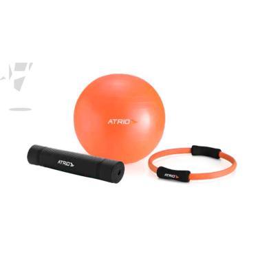 Kit Pilates Atrio Bola + Anel + Tapete - ES126 ES126 64a85fbde8ec