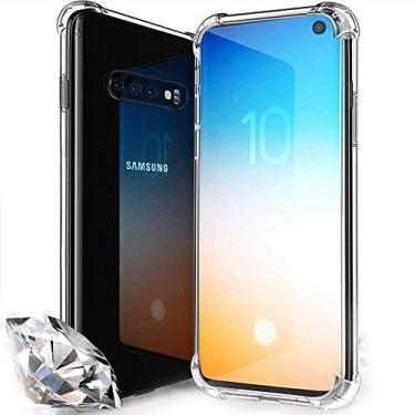 Capa Anti Shock Impactos para Samsung Galaxy S10E - Bordas Reforçadas, Transparente