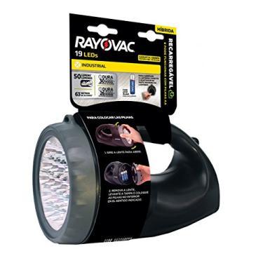 Lanterna, Rayovac, R19Led110V220V, Preta