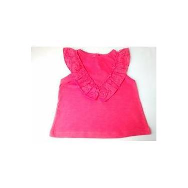 38b2f9e423 Blusa Feminina Bebê Importada Zara Baby Girl Gola Lese