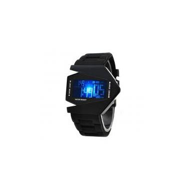 c58fc90e542 Relógio de Pulso Masculino Digital Estilo Silicone Outras marcas