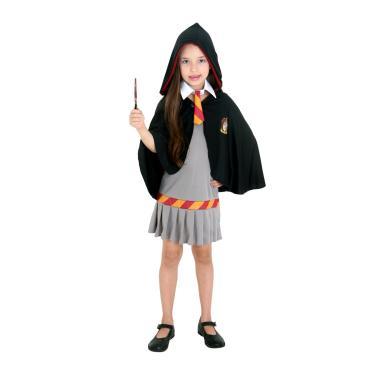 Fantasia Hermione Grifinória Infantil - Harry Potter  P