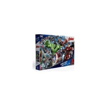 Imagem de Quebra - Cabeça 2000 Peças - Os Vingadores - Toyster