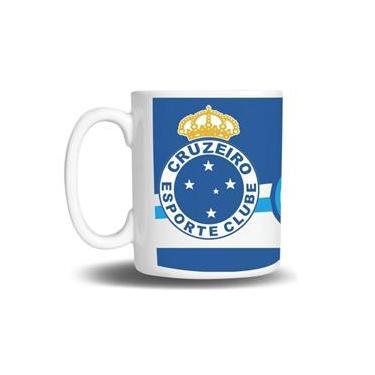 Caneca de Porcelana Personalizada do Cruzeiro 27688a415de7a