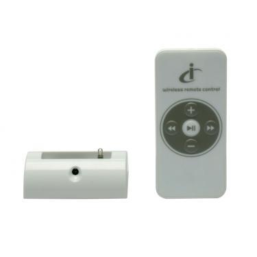 Base carga e sincronia de iPod Nano controle remoto sem fio