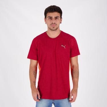 Camiseta Puma Power Vent Vermelha - P