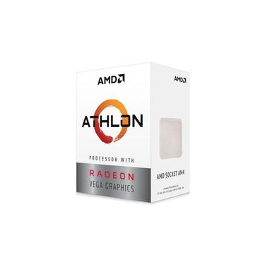 Processador Amd Athlon 3000g Dual-core 3.5ghz 5mb Cache Am4, Yd3000c6fhbox