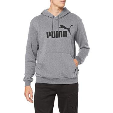 Moletom Fechado Puma Essentials Hoody Cinza Cor:Cinza;Tamanho:G;Peso:0.5;