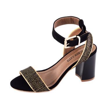 f42d9d860 Sandália Feminino Salto Dourado   Moda e Acessórios   Comparar preço ...