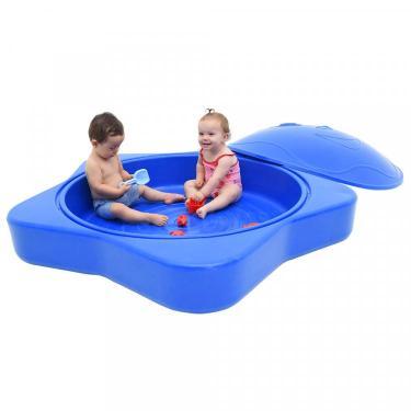 29e746f96 Caixa de Areia Infantil Estrela do Mar Azul Xalingo Brinquedos Azul
