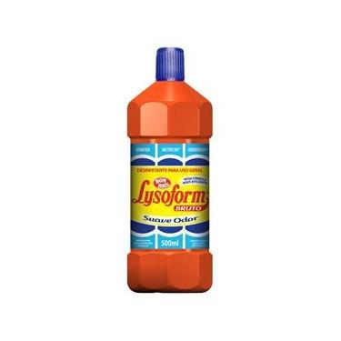 Desinfetante para Uso Geral de Suave Odor com 500ml Lysoform