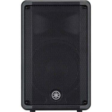 "Caixa Acústica Ativa 10"" 325W dBr-10 Preta Yamaha, Yamaha, dBr-10"