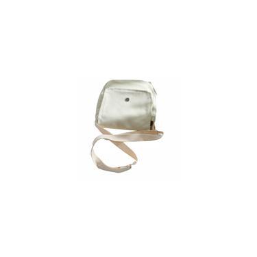 Moda Bolsa de Ombro Messenger Bag Feminino tela de polister Student Bag Branco