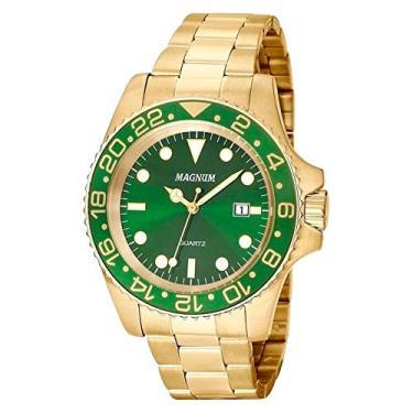 4843648fbd6 Relógio Masculino Magnum MA32934G Dourado