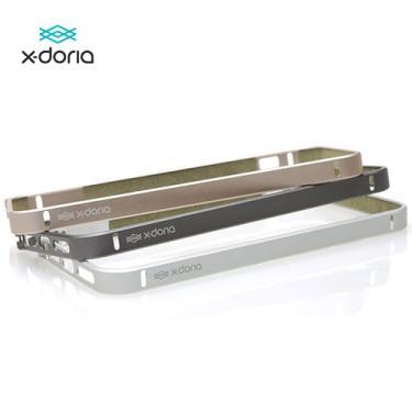 Bumper de Proteção Lateral iPhone 6 Mobimax Bump Gear Prata 3X141613A