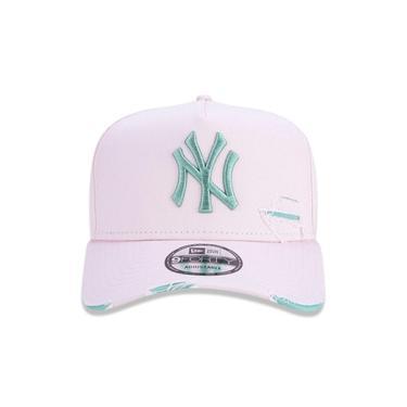 Imagem de Boné New Era New York Yankees Destroyed Rosa