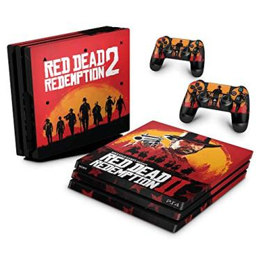 Skin Adesivo para PS4 Pro - Red Dead Redemption 2